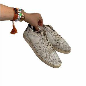 Authentic Golden Goose Ballstar Sneakers SZ 40